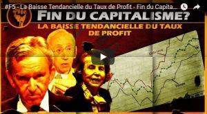 La baisse tendancielle du taux de profits expliquée en vidéo par Loic Chaigneau