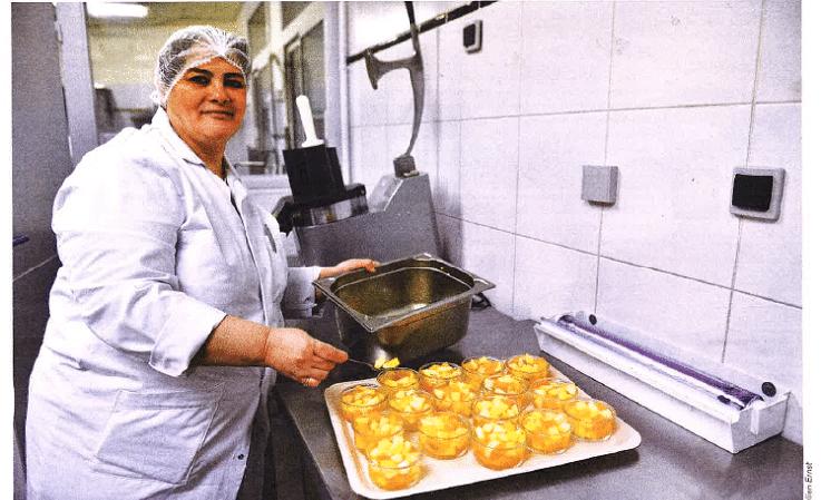 Nouria renoue avec l'emploi