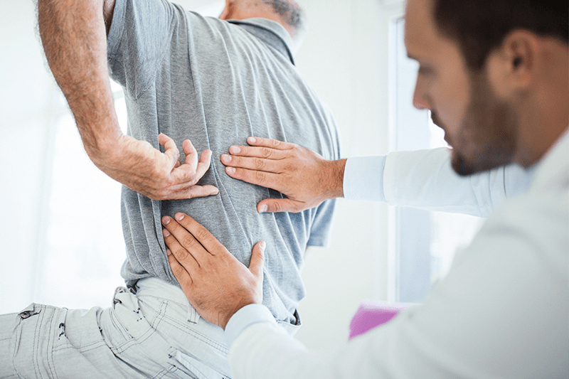 back treatment after injury