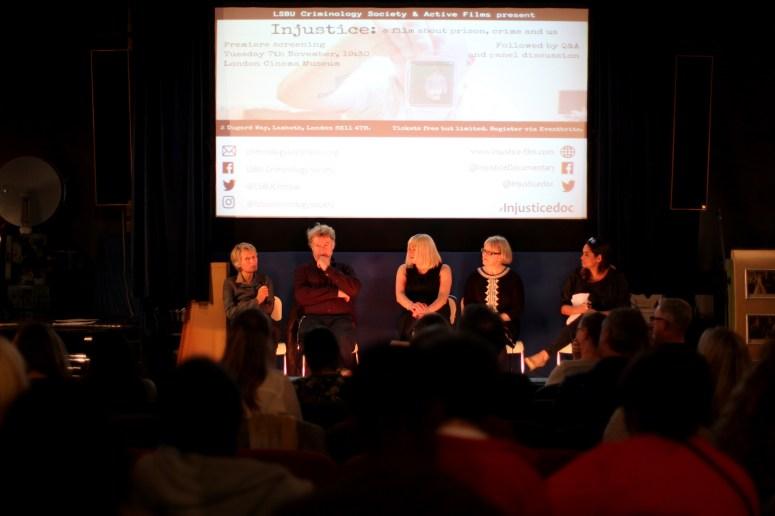 Panel after London Premiere
