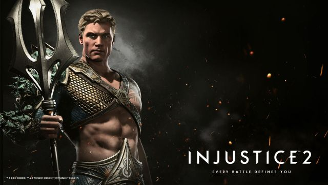 Image result for Aquaman injustice2 wallpaper