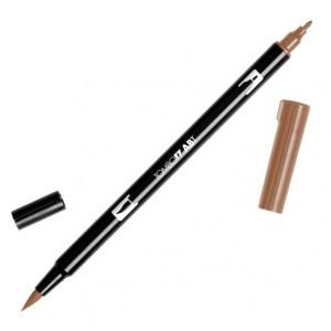 Tombow Dual Brush Marker – 977 Saddle Brown