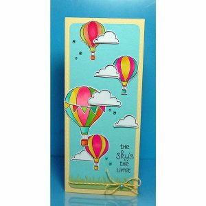Lawn Fawn Clear Stamps 4″X6″ – Blue Skies