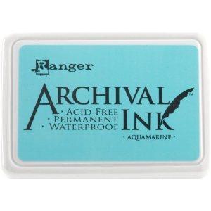 Archival Ink Pad No.0 – Aquamarine