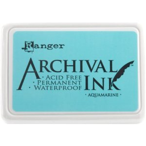 Archival Ink Pad No.0 – Aquamarine