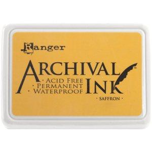Archival Ink Pad No.0 – Saffron
