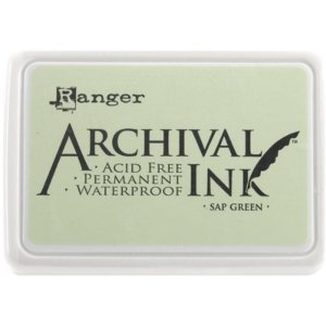 Archival Ink Pad No.0 – Sap Green