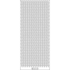 Borders Leaves Peel Off Stickers 4″X9″ Sheet