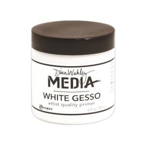Dina Wakley Gesso 4oz Jar – White