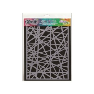 Dyan Reaveley's Dylusions Stencils 9″X12″ – Shattered