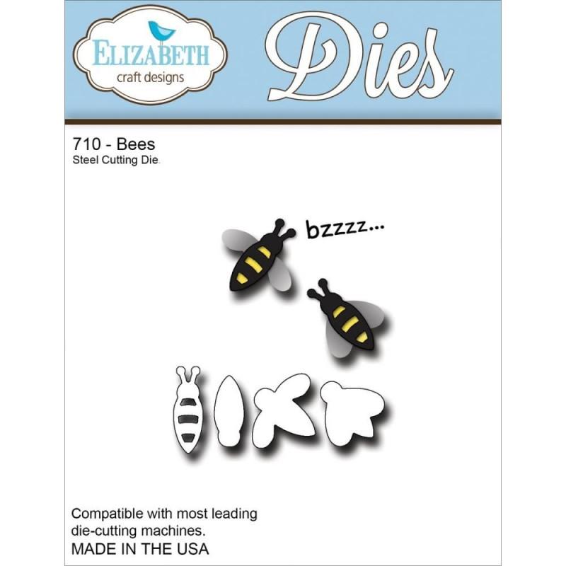 Elizabeth Craft Metal Die Bees Ink About It On The Go