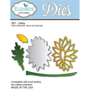 Elizabeth Craft Metal Die – Daisy