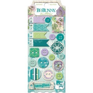 Enchanted Garden Buttons