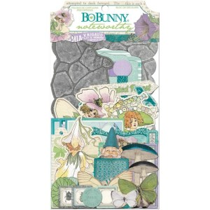Enchanted Garden Noteworthy Die-Cuts