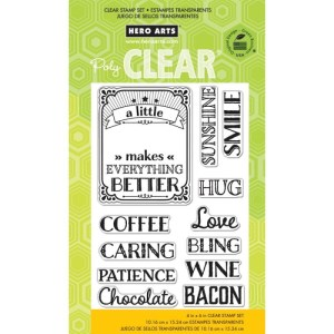 Hero Arts Clear Stamps 4″X6″ Sheet – A Little