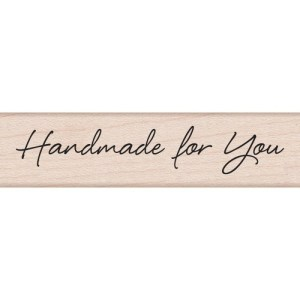 Hero Arts Mounted Rubber Stamps .5″X3″ – Large Handmade For You
