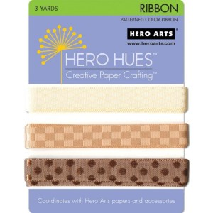Hero Hues Ribbon 1yd 3/Pkg – Earth