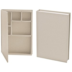 Idea-Ology Configurations Mini Chipboard Shadow Box Book – 6″X9″, 6 Compartments