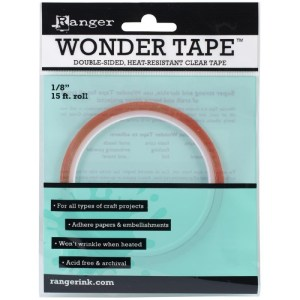 Inkssentials Wonder Tape Redline – .125″X15′