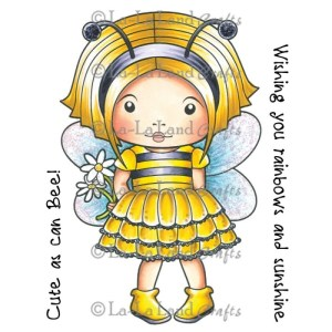 La-La Land Cling Mount Rubber Stamps – Bumble Bee Marci