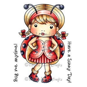 La-La Land Cling Mount Rubber Stamps – Ladybug Marci