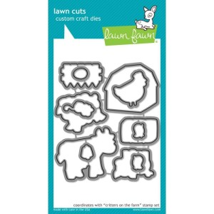 Lawn Cuts Custom Craft Die – Critters On The Farm