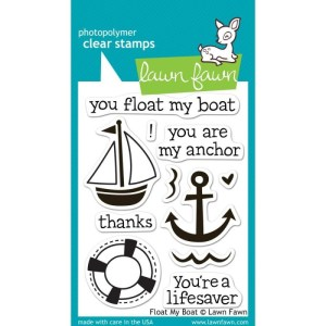 Lawn Fawn Clear Stamps 3″X4″ – Float My Boat
