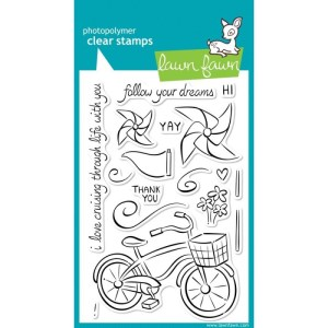 Lawn Fawn Clear Stamps 4″X6″ – Cruising Through Life