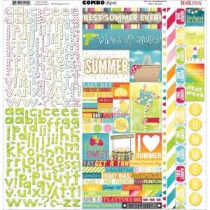 Lemonade Stand Combo Stickers 12″X12″