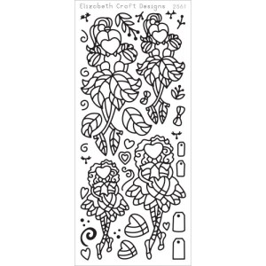 Little Cuties 1 Peel-Off Stickers – Black