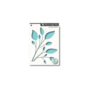 Memory Box Stencil – Leafy Stems