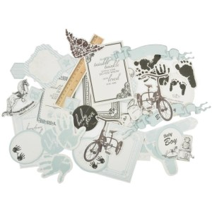Pitter Patter Collectables Cardstock Die-Cuts – Boy