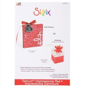 Sizzix BIGkick/Big Shot Texturz Impressions Pad – 8.875″X5.875″X.125″
