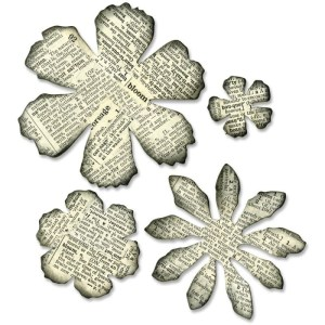 Sizzix Bigz Die By Tim Holtz 5.5″X6″ – Tattered Florals