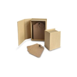 Staples ATC Cards Book Box 4.75″X3.5″X2.5″ – Kraft