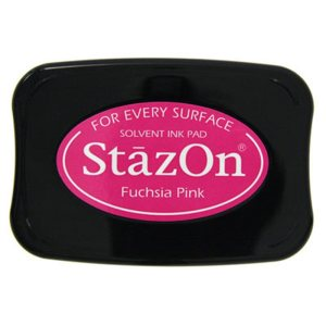 StazOn Solvent Ink Pad – Fuchsia Pink