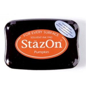 StazOn Solvent Ink Pad – Pumpkin