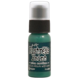 Tim Holtz Distress Paint 1oz Bottle – Pine Needles