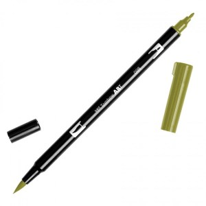 Tombow Dual Brush Marker – 098 Avocado