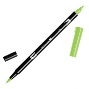 Tombow Dual Brush Marker – 173 Willow Green