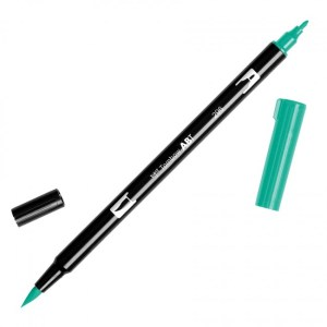 Tombow Dual Brush Marker – 296 Green