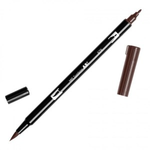 Tombow Dual Brush Marker – 879 Brown