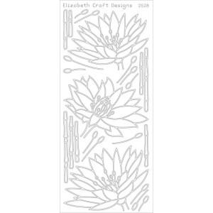 Waterlilies Peel-Off Stickers – Gold
