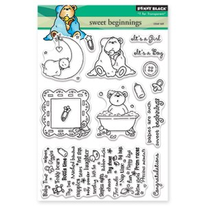 Penny Black Clear Stamps – Sweet Beginnings