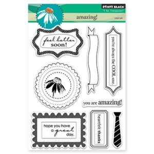 Penny Black Clear Stamps – Amazing!