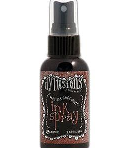 Dylusions Ink Spray Melted Chocolate, 2oz
