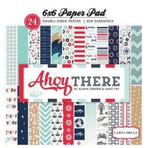 Carta Bella – 6 x 6 Paper Pad – Ahoy there