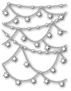 Memory Box Die – Star Garlands