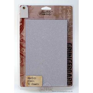 Tim Holtz Idea-ology Grungeboard Basics Plain