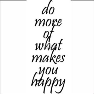 Funny Bones Cling Mounted Stamp – Do More of What Makes You Happy